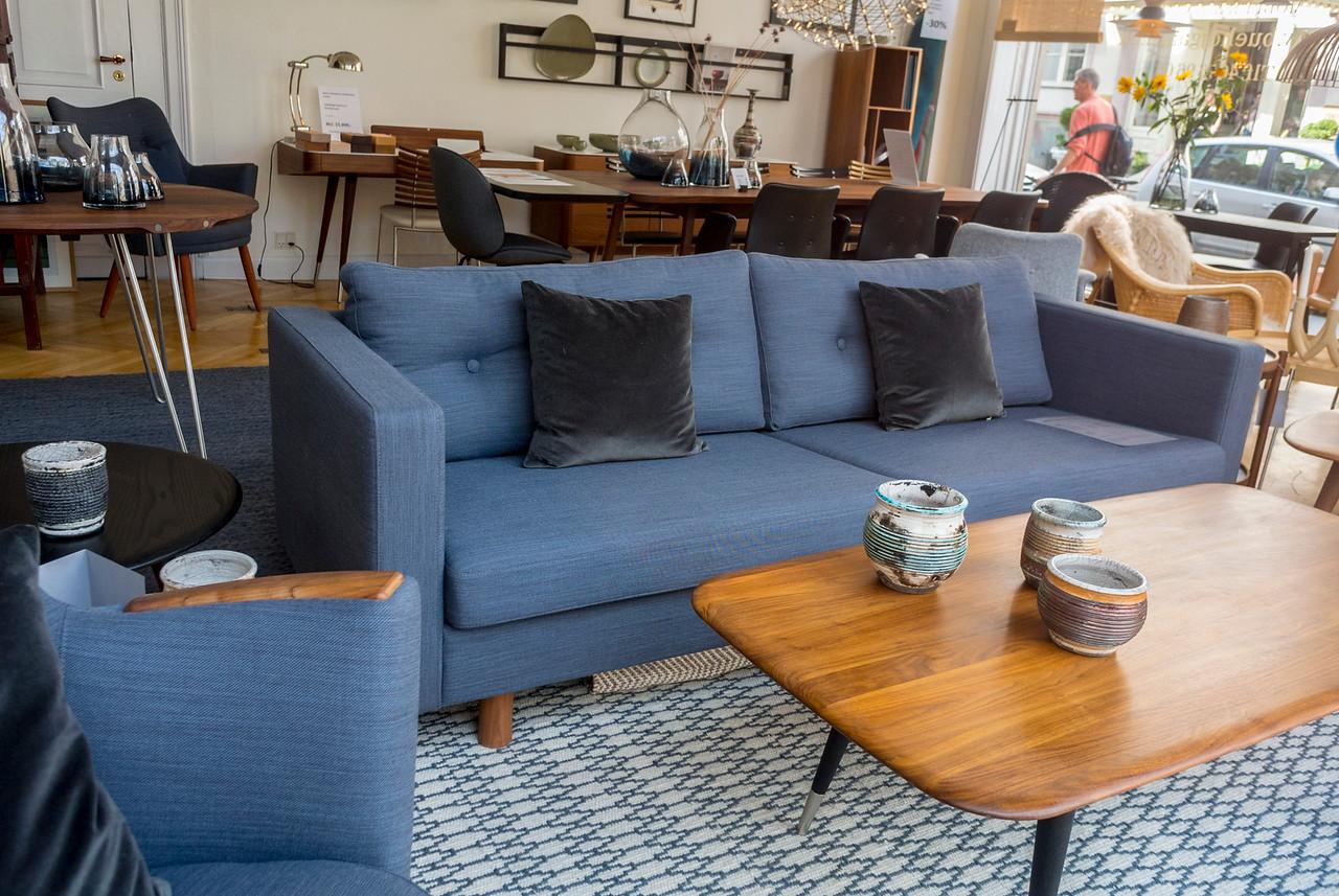 Copenhagen, Denmark, Furniture Store, Buehojgard