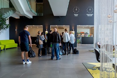 Copenhagen, Denmark, Inside Tourist Hotel Wakeup Copenhagen