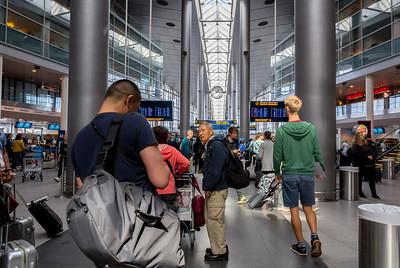 Copenhagen, Denmark, Scenes inside, Copenhagen Airport,