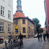 Copenhagen, Denmark, Bicycling on Street Scene in City Center