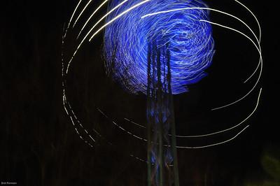Tivoli 2 at night