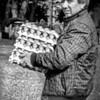 Delivery Man in La Coruna, Spain