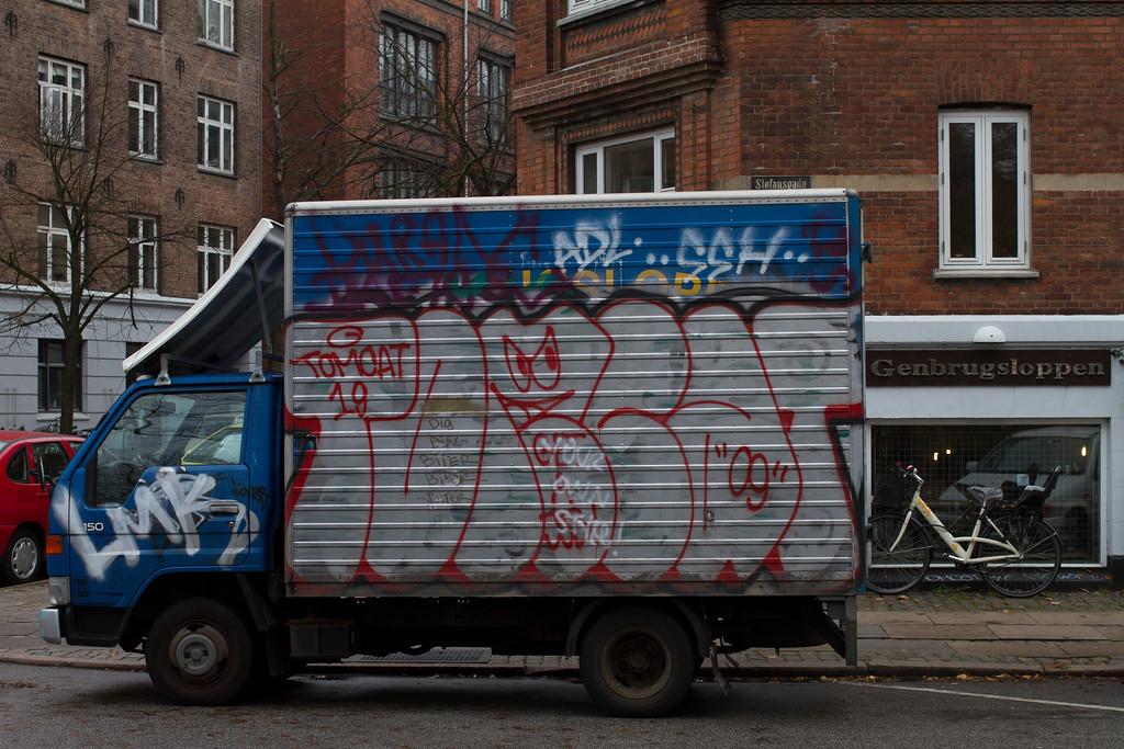 Copenhagen; Nørrebro. Oct 31