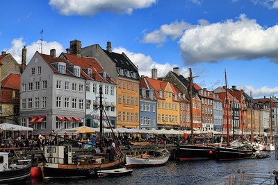 Aaaaand the famous colourful palce: Nyhavn
