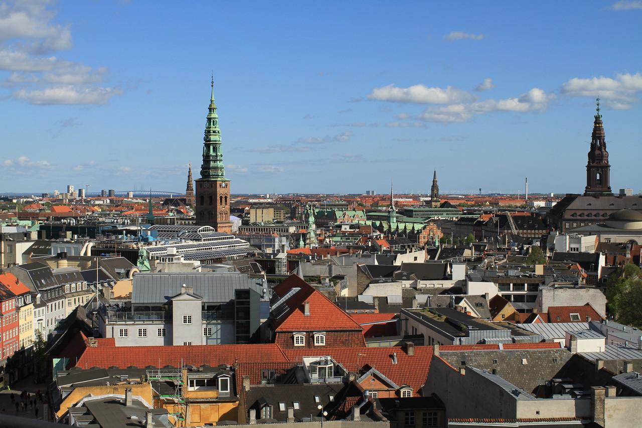 Views from Rundetaarn (Round Tower)