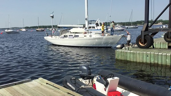 Tow to dock
