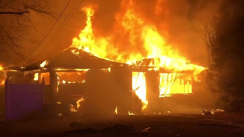 Copiague Suspicious House Fire- Paul Mazza