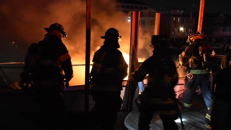 Copiague Boat Fire- Paul Mazza