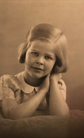 Mum as a child