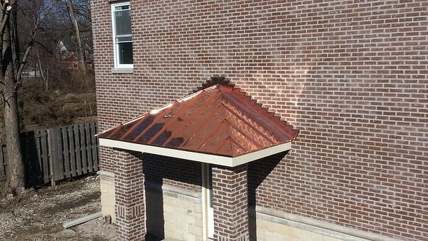 Copper Bay Windows & Copper Soffit Fascia - Chicago, IL