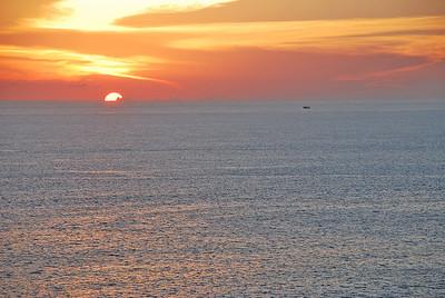 Sunset in Mazatlan