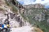 Riding down the Tararecua canyon to the Recowata Hot Springs