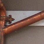 I have the ability to copper plate the soldered joints in the field to hide complex fittings and custom transitions.