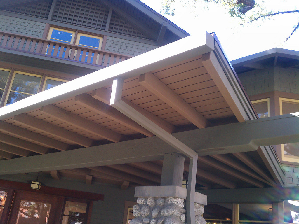 Plain steel can be a good choice on rustic buildings. A zinc coatings delays rust.