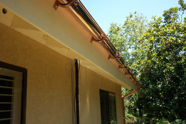 "Seamless six inch half round gutters in San Diego, California <a href=""http://www.abraingutters.com/chapterone.html"">http://www.abraingutters.com/chapterone.html</a>"