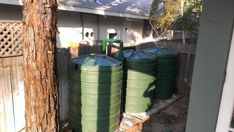 420 Gallon Bushman tanks with gravel filled beds