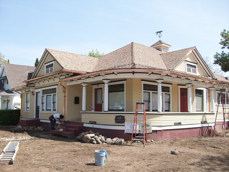 Historic Home Renovation, Maple Ave.