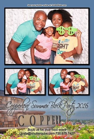 Copperleaf Summer Block Party 2016