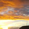 sunrise over Briedden Hill, 24th February 2017