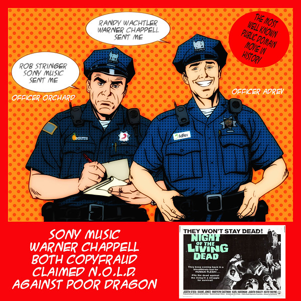#SonyMusic & #WarnerChappel Both #CopyFraud Claimed N.O.L.D.