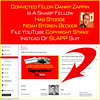 """No Cease & Desist Letter - Banned From Going LIVE On YouTube By A Convicted Drug Felon DANNY ZAPPIN's AdRev Featuring Noah """"Plash"""" Becker"""