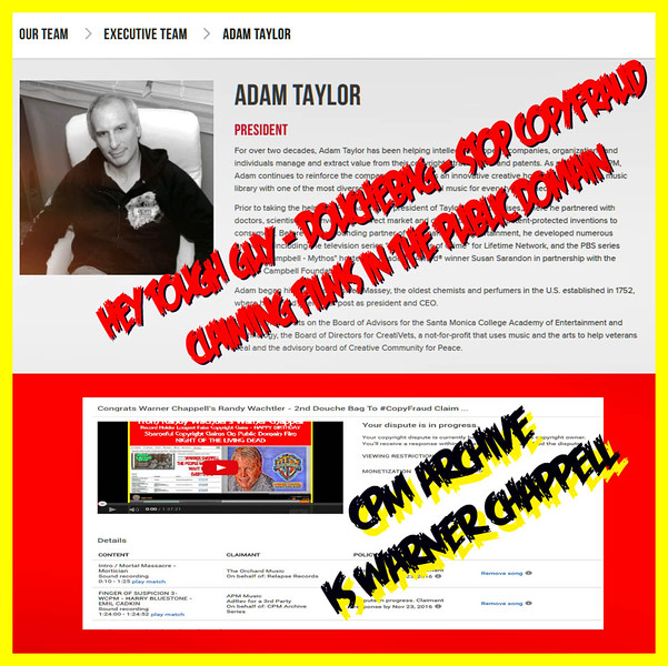 CPM Archive Is Warner Chappell By Another Name And Another CopyFraud Claim