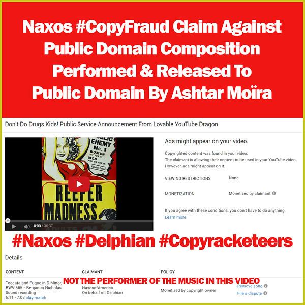 #NaxosAmerica #CopyFraud