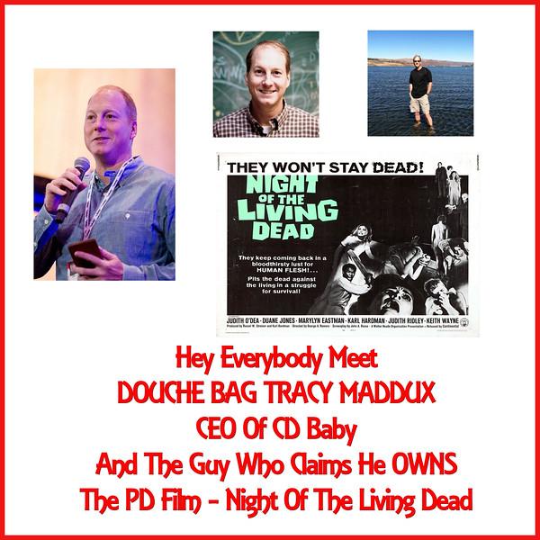 #Copyracketeer Tracy Maddux - CEO CD Baby