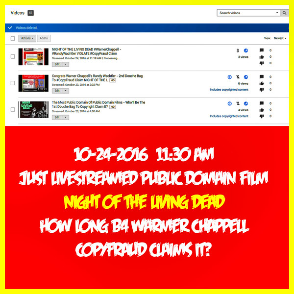 Warner Chappell Judge Computerbot Claims Ownership Of Public Domain Film