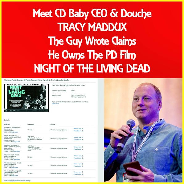 #copyfraud #Copyracketeer Tracy Maddux - CEO CD Baby