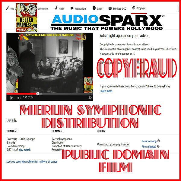 #AudioSparx - #CopyFraud #Copyracketeers