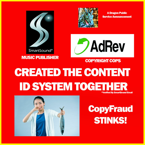 SmartSound/Ad Rev CopyFraud - Making Copyright Claims Against Royalty Free Music THEY Sold Me