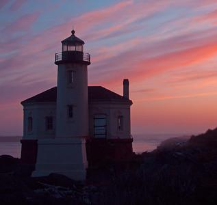 Coquilla River Lighthouse, Bandon, Oregon