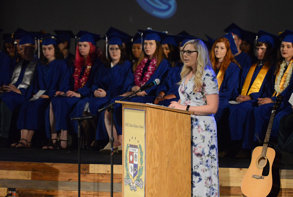 . Core Graduation, May 24, 2018,  in Chico, California. (Carin Dorghalli -- Enterprise-Record)