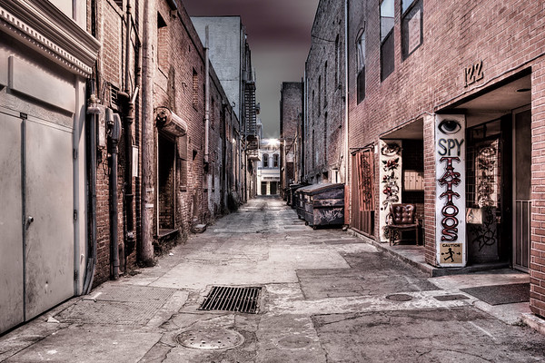 Alleyways and Avenues