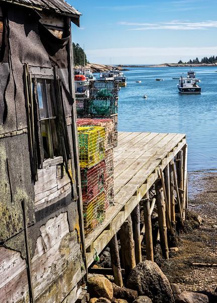 Corea Maine  Working Harbor 9-10-16
