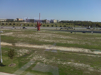 View out east of building towards Dallas North Tollway