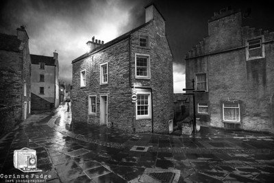 Rain in Stromness September 2012 Corinne Fudge Photography