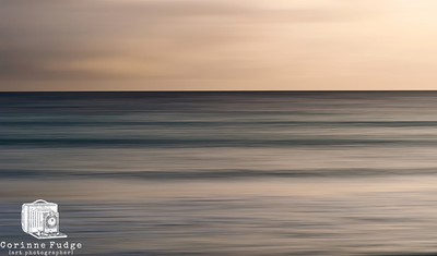 Blue Bronze The ever-changing Pentland Firth. In-camera movement to create abstract. January 2012