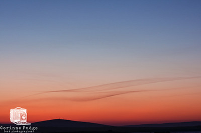 wisps over wideford hill orkney 2012