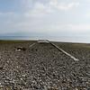 Catalina launching strip remains, looking out at Fryars Bay, Menai Straits.