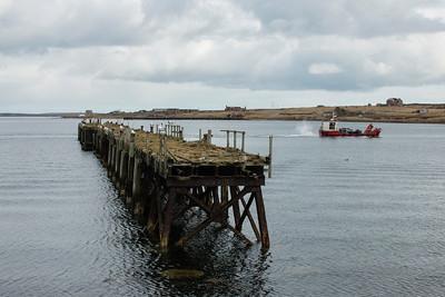 WW1 Pier, Lyness