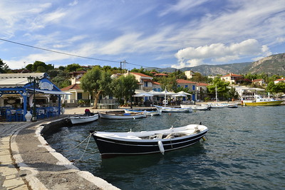 Trizonia Island Greece