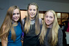 XXjob 28/11/14 ADVERTISING / SOCIALS  Pictured at the Cork Camogie team Celebration Evening at Rochestown hotel, Cork l-r Catrina O'Keefe, Mauve Lynch and Ciara Crowley U15 Cork Camogie team members. Picture: Andy Jay