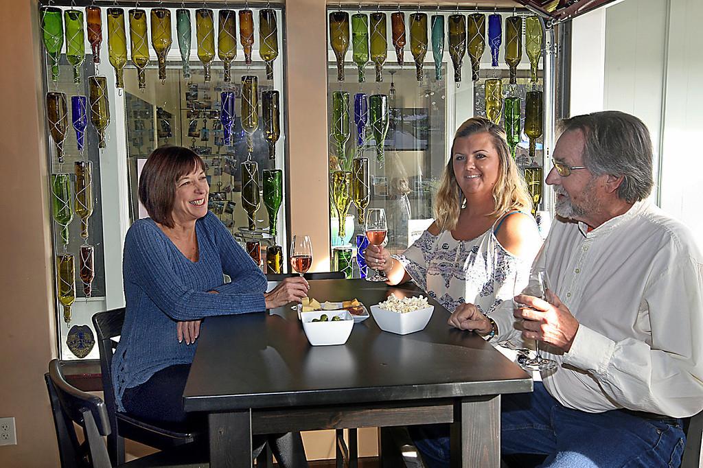 . Cork & Fork wine bar in Capitola Village. (Dan  Coyro -- Santa Cruz Sentinel)