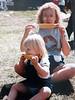 1985 - Renee Krueger (maiden Olson) and Barb Peterson (maiden Brown)