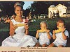 1965 - Bruce and Brian - toddler twins - pictured on the yearly calendar with Cokato Queen