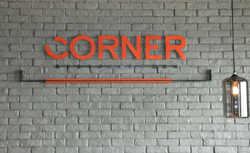 Corner by Spoon and Fork