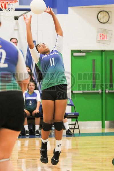 Lake Mary Prep @ Cornerstone Charter Academy Ducks Girls Varsity Volleyball - 2014- DCEIMG-2289