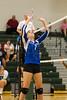 Cornerstone Charter Ducks @ Oak Ridge Pioneers Girls Varsity Volleyball - 2014- DCEIMG-4660